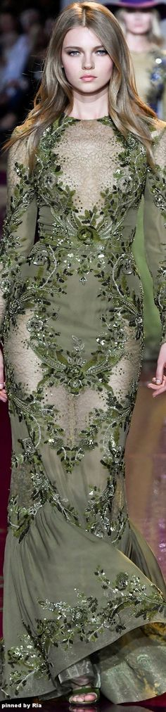 Zuhair Murad FW 2016-17 Couture l Ria