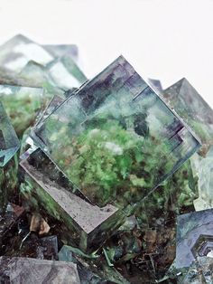 venusinthefifth:  bijoux-et-mineraux:  Fluorite - Namibia  So pretty! I love to pair Fluorite with other stones/Crystals. It's like a gateway for other stones because it helps open up the healing properties/energy.