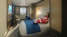 Cabin on board QUANTUM OF THE SEAS