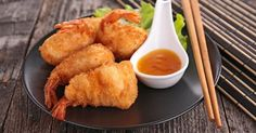 Light shrimp fritters without fryer Beignets, Quick Recipes, Asian Recipes, Cooking Recipes, Shrimp Recipes, Appetizer Recipes, I Love Food, Good Food, Tapas