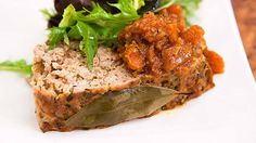 Recipe from Everyday Gourmet with Justine Schofield Meatloaf Recipes, Beef Recipes, Savoury Recipes, Pork Medallions, Facebook Recipe, How To Cook Beef, Gourmet Cooking, Meat Chickens, Salmon Burgers