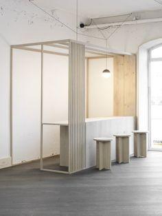 kiosque world of dinesen - April and mayApril and may Design Hotel, Kiosk Design, Cafe Design, Retail Design, Restaurant Design, Signage Design, Corporate Design, Design Design, Graphic Design