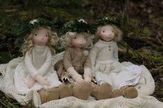 Three Winter Girls by Fig and Me.