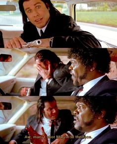 Pulp Fiction - Lessons on gun safety.