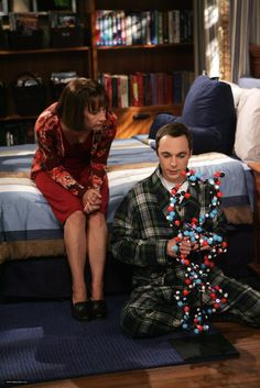 Sheldon and his mom