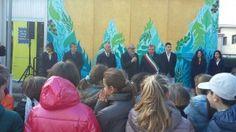 Inaugurato a Ronchi il nuovo murale dellufficio postale