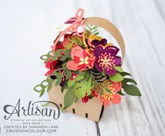 A basket of Botanicals makes a beautiful gift!