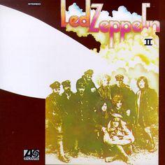 Image detail for -Led Zeppelin II Album Cover