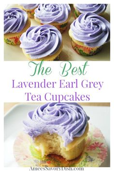 Lavender earl grey tea is the shining star of this easy homemade cupcakes recipe, made famous at Georgetown Cupcakes! Get the cupcakes recipe here. cake recipe Lavender earl grey tea is the shining star of this cupcakes recipe! Tea Cakes, Food Cakes, Mini Cakes, Cupcake Cakes, Homemade Cupcake Recipes, Baking Recipes, Cookie Recipes, Unique Cupcake Recipes, Sprinkles Cupcake Recipes