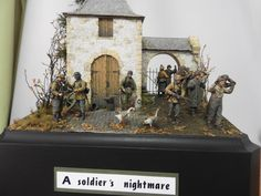 Battle of the Bulge, Military Figures, Military Diorama, Louis Daguerre, D Day Normandy, Ardennes, Military Modelling, Toy Soldiers, Scale Models, Vignettes
