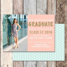 graduation announcements for high school