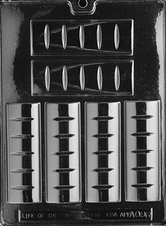 1 OZ. BAR All Occasions Chocolate Candy Mold