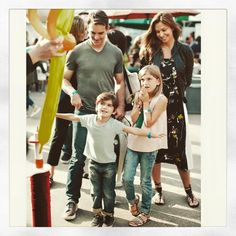 with Kelly & Michael, Receives Top 5 Ideas for - Jeff Gordon Jeff Gordon Nascar, Second Child, Embedded Image Permalink, Race Cars, Family Photos, Champion, My Favorite Things, Celebrities, Tops