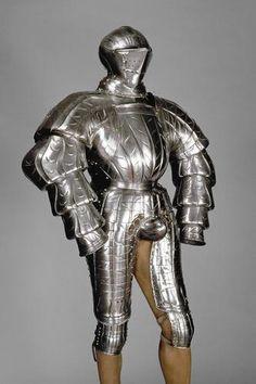 Reste einer Harnischgarnitur (Landsknechts-Kostümharnisch)  Kolman Helmschmid | um 1525