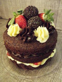 Naked Cake Dois amores