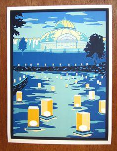 Japanese Lantern Festival print Como Conservatory, St. Paul by CindyLindgren