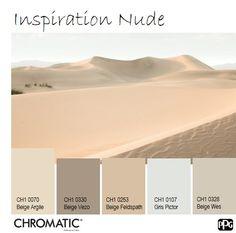 En avril, le Beige Argile CH1 0070 nous invite à faire peau neuve dans nos décorations intérieures. www.chromaticstore.com