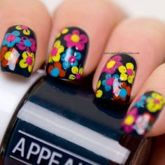 - Inspired by a song - My Nail Polish Online Nail Black, Wide Nails, Nail Polish Online, Innovative Ideas, Finger Nails, Manicure E Pedicure, Nail Stuff, Gel Nail Designs, Easy Nail Art