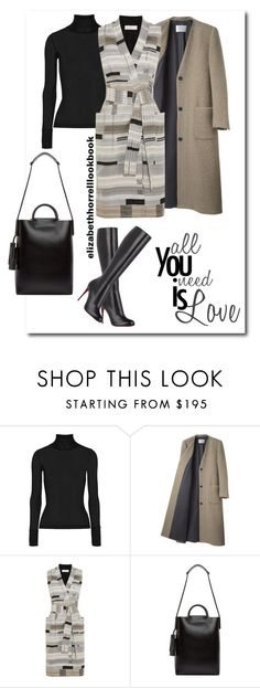 """LIZ"" by elizabethhorrell ❤ liked on Polyvore featuring T By Alexander Wang, La Garçonne Moderne, Victoria, Victoria Beckham, Building Block, Christian Louboutin, women's clothing, women's fashion, women, female and woman"