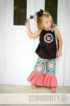 love those big ruffles (Allie and Co Children's Designs)