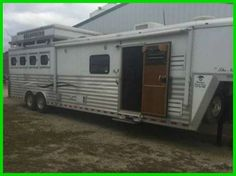 2006 Bloomer Horse Trailer 32' 4 Horse 16' Short Wall