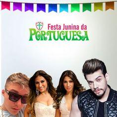 Festa Junina da Lusa com Simone & Simaria, Lucas Lucco, Mc Gui e Pikeno e Menor. Infos no Whats: 951674133