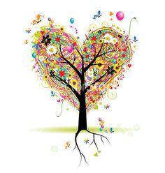heart Tree ♥♥♥♥ ❤ ❥❤ ❥❤ ❥♥♥♥♥