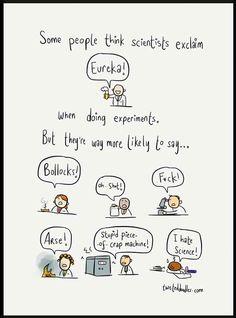 "Me and my Food Science Graduate students...Mine would be ""Fuuuuuuuuuuuck"""