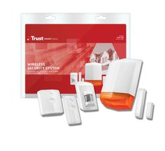 Home Security Set, Trust Smart Home Wireless Security System, Indoor Range, Protecting Your Home, Smart Home, Windows And Doors, Trust, Ideas, Smart House, Thoughts