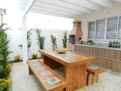 estilo da bancada com armários estilo mesa madeira com banco