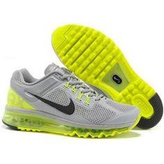 Nike Air Max 2013 Men LightGray Yellow