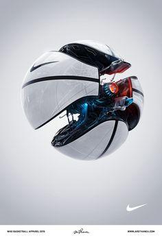 Nike Basketball work by Ars Thanea