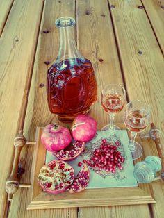 Λικέρ Ρόδι - Pomegranate licqueur - Powered by @ultimaterecipe
