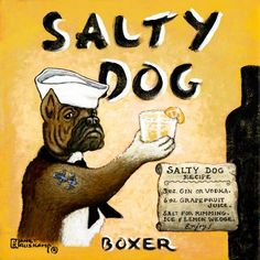 Janet Kruskamp - Salty Dog - art prints and posters