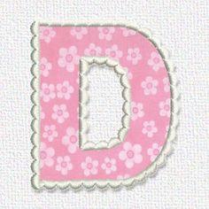 Lovely Applique - Cute Alphabets -