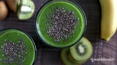 tropical kiwi smoothie recipe