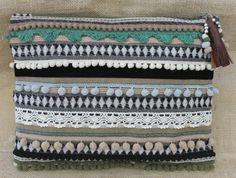 Oversized Ethnic Embellished Clutch Bag by RENIQLO on Etsy