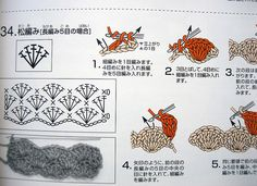 little japanese book of crochet stitches