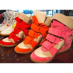 Sneaker wedges Isabel Marrant style by Blosh