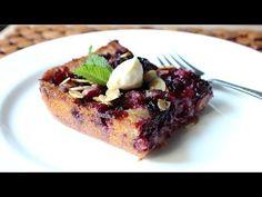 Blackberry Buckle Recipe - How to Make a Blackberry & Almond Buckle