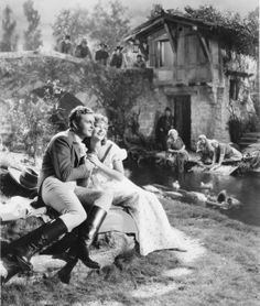 Jeanette McDonald (Philadelphia, Pennsylvania) and Allan Jones (Old Forge, Pennsylvania) in The Firefly (1937)