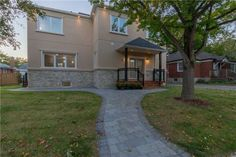 14 Atherton Crescent, Toronto House for sale (MLS® Check out property details, home price, nearby schools and neighbourhood information. Toronto Houses, House Prices, The Neighbourhood, Places To Visit, Mansions, House Styles, Home Decor, Luxury Houses, Interior Design