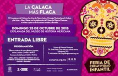 Este domingo 25 de octubre inicia la Celebración de Día de Muertos en CONARTE! Acompáñanos en la Explanada del Museo de Historia Mexicana para una tarde de talleres música títeres y muchas actividades en torno a nuestras hermosas tradiciones mexicanas.  Habrá actividades para chicos y grandes la cita es las 14:00h. y el concurso de disfraces comienza a las 18:00h.  Los esperamos! #CONARTE20 Con apoyo de Conaculta