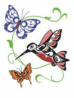 Hummingbirds and Butterflies | Odin Lonning