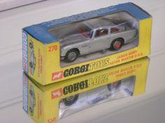 Corgi 270 James Bond (Later Slim Line window box packaging)
