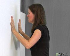 Flexiones contra la pared