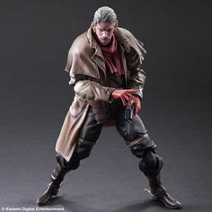 From the popular video game by Hideo Kojima comes the Metal Gear Solid V Ocelot Play Arts Kai Action Figure by Square Enix. #otaku #ocelot #metalgear #squareenix #playartskai
