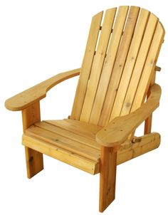 Our Top-Selling Conventional Adirondack Chair This species of Cedar is lightweight, and has an incredible thermal co-efficient, which means even on hot days, it is cool to sit in. The bacteria and fun