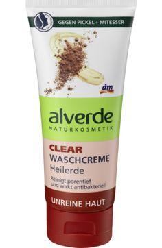 alverde NATURKOSMETIK Clear Waschcreme Heilerde