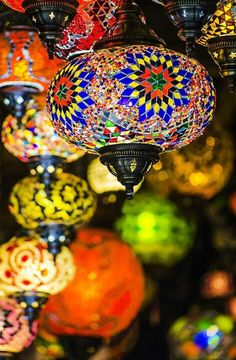 Maroccan Lights by Andy Butler-I want one in my house.